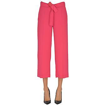 Pinko Pink Polyester Pants