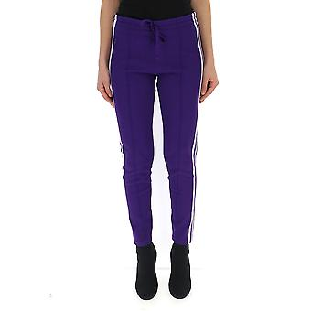 Isabel Marant Purple Viscose Pants