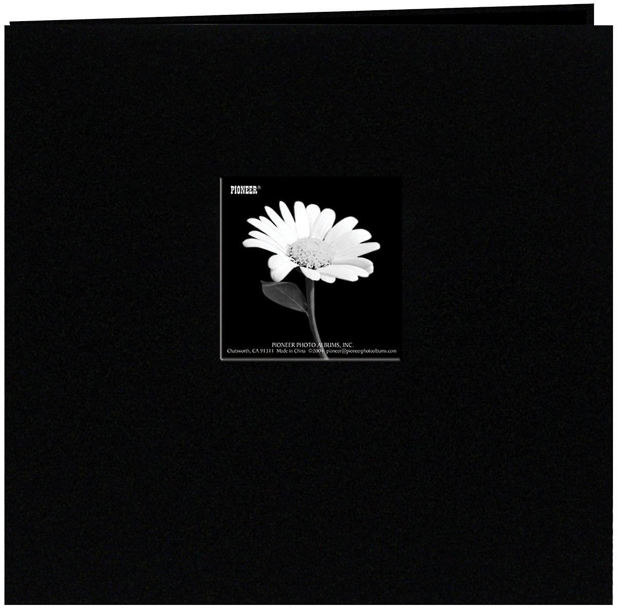 Pioneer livre tissu couverture de l'Album Post lié 12 & 034;X 12 -noir