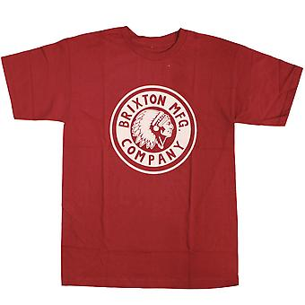 Brixton Rival T-Shirt Red
