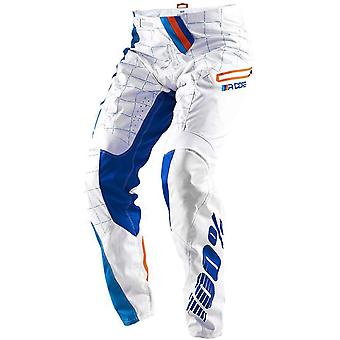 100 Percent White R-Core DH Kids MTB Pant