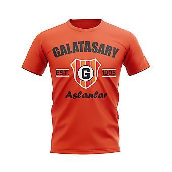 Galatasaray etablerad fotboll T-shirt (orange)
