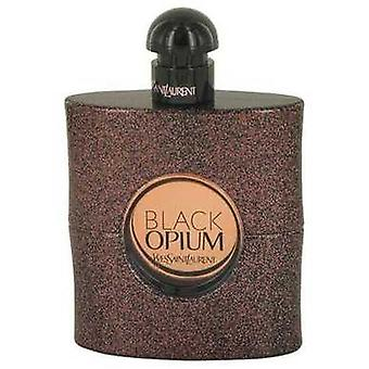 Black Opium de Yves Saint Laurent Eau De Toilette Spray (testeur) 3 Oz (femmes) V728-536812