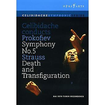 Celibidache Conducts Prokofiev [DVD] USA import