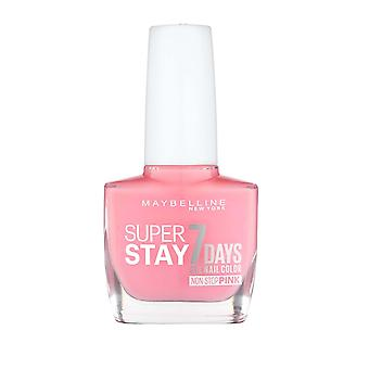 Maybelline Super Stay 7 Days Gel Nail Colour Non Stop Pink 10ml Rose Rapture #140