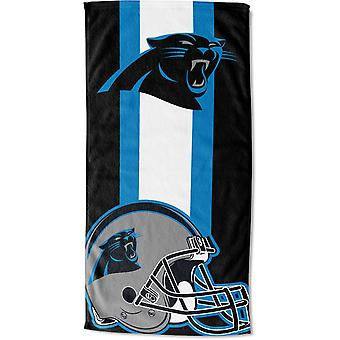 Northwest NFL beach towel ZONE Carolina Panthers 76x152cm