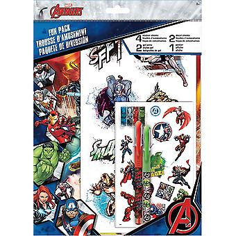 Fun Packs Stickers - Avengers - w/Tattoos Games Toys Set st6946