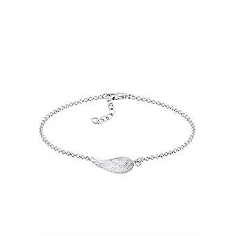 Elli Women's Bracelet in Silver 925 with Feather