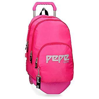 Pepe Jeans Uma Backpack - 44 cm - 20.46 liters - Pink 63924N2