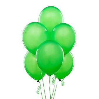 5pk of 10in Neon Light Green Latex Balloons Birthday Wedding All Occasions Party Decorations
