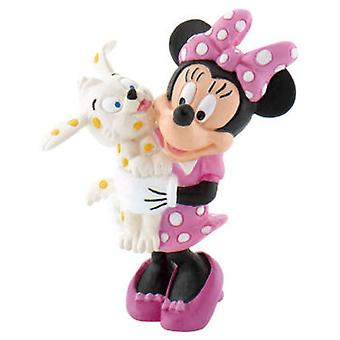 Yolanda Minnie With Puppy (Toys , Dolls And Accesories , Miniature Toys , Mini Figures)