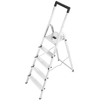 Hailo Aluminum ladder L40 Easyclix (5 steps) (DIY , Tools , Stairs and stools)
