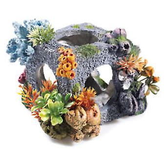 Classic For Pets Med Cubic Habitat 175mm (Fish , Decoration , Ornaments)