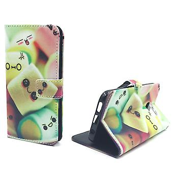 Mobile phone case pouch for mobile Samsung Galaxy S7 edge marshmallows