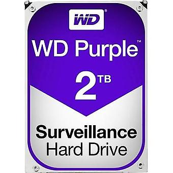 3.5 (8.9 cm) internal hard drive 2 TB Western Digital Purple™ Bulk WD20PURX SATA III