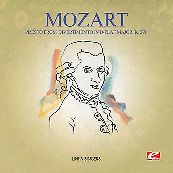 Mozart - Presto From Divertimento in B-Flat Major K. 270 USA import