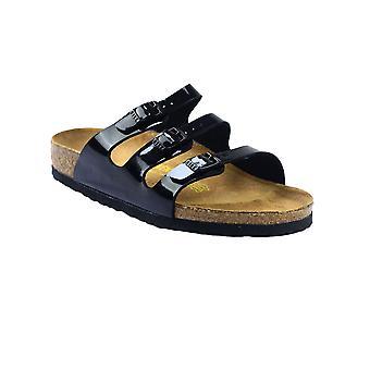 Birkenstock Florida Ladies Sandals Suede Leather Ruber Slip On Buckle Footwear