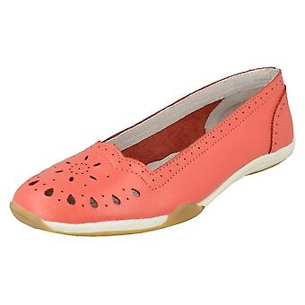 Ladies Down To Earth Flat Comfort Ballerina Shoes F80205