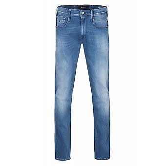 Replay Hyperflex handmade in Italy of on bass trousers mens Jeans Blau 661 808 010