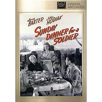 Sunday Dinner for a Soldier [DVD] USA import
