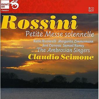 G. Rossini - Rossini: Petite Messe Solennelle; Preghiera [CD] USA importerer