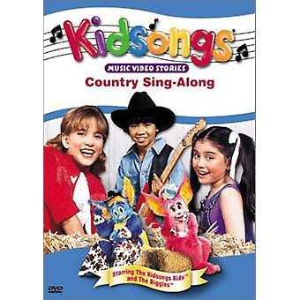 Kidsongs - land Sing-Along [DVD] USA importerer