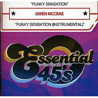 Gwen McCrae - Funky sensasjon/Funky sensasjon (Instrumental) [DVD] USA import
