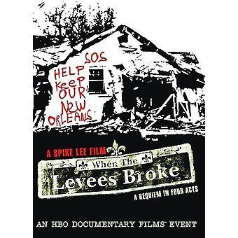 Cuando los diques se rompieron (2006) [DVD] USA importar