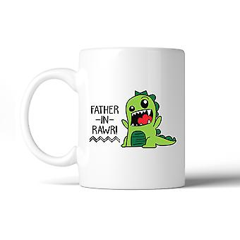 Father-In-Rawr 11oz Ceramic Coffee Mug Funny Gift For Father In Law