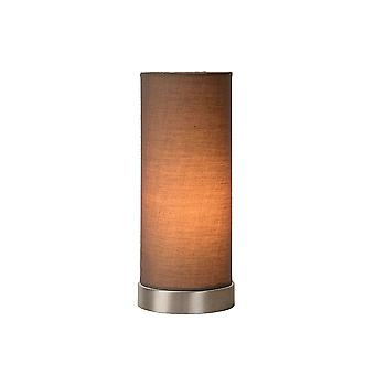 Lucide TUBI Taupe Cylinder Table Lamp