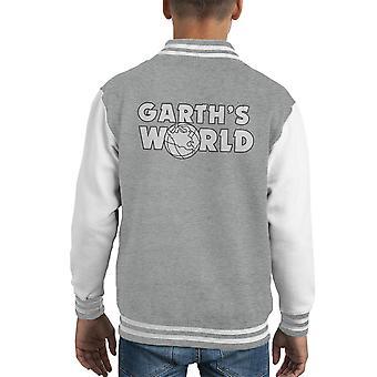 Garths Welt Kid Varsity Jacket