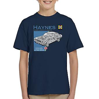Haynes Owners Workshop Manual 0295 MK2 Ford Cortina Kid's T-Shirt