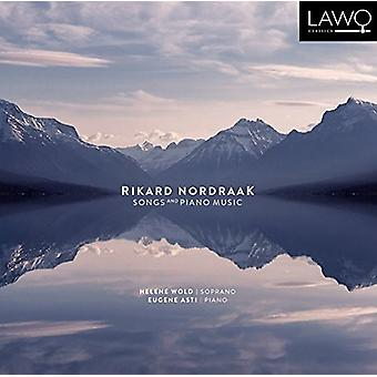 ønsker, Helene / Asti, Eugene - Rikard Nordraak: sange & klaver musik [CD] USA import