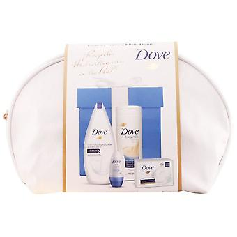 Dove Deep Hydration Pack 5 Pieces (Woman , Perfume , Gift Wraps)