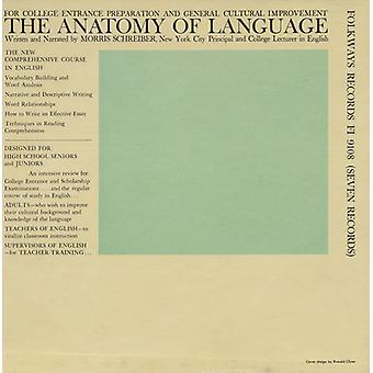 Morris Schreiber - Anatomy of Language [CD] USA import