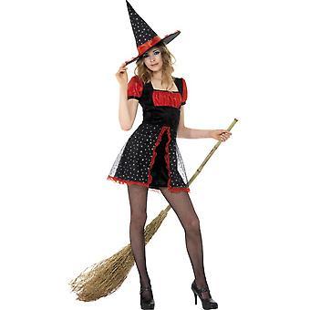 Kinder Kostüme kurze Halloween Teen Sterne Hexenkostüm