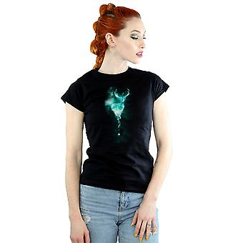 Harry Potter Women's Stag Patronus Mist T-Shirt
