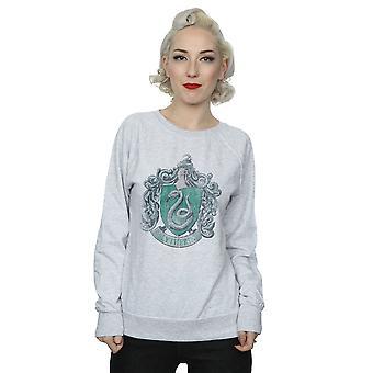 Harry Potter kvinders Slytherin nødlidende Crest Sweatshirt
