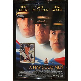 A Few Good Men - Signed Photo in Movie Poster