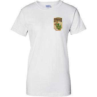 Luftgestützte Mike Force MACV-SOG - 5th Special-Forces - Vietnam - Damen Brust Design T-Shirt