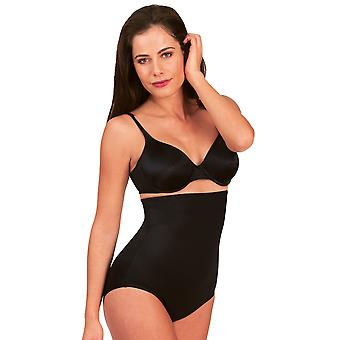 Womens Miraclesuit Shapewear Soft Comfort Black Ladies High Waist Brief 2755