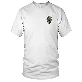 US Army - 10th Special Forces Group Crest Green 10 Embroidered Patch - Kids T Shirt