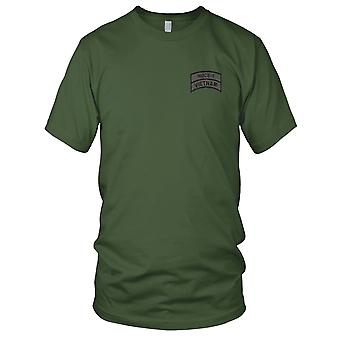 US Navy NMCB-5 Vietnam OD Embroidered Patch - Ladies T Shirt