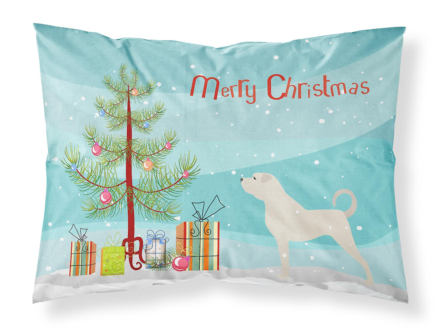 De Standard Anatolie Christmas Tissu D'oreiller Berger Merry Tree Taie CBoeWrdx