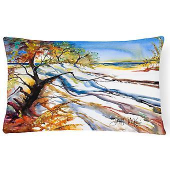 Carolines Treasures  JMK1124PW1216 Sand Dune Canvas Fabric Decorative Pillow
