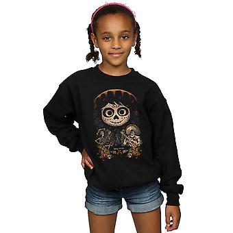 Disney Girls Coco Miguel Face Poster Sweatshirt