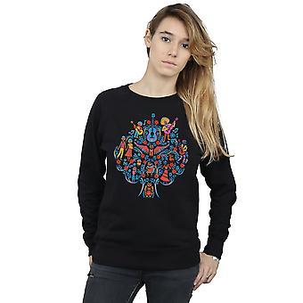 Disney Women's Coco Tree Pattern Sweatshirt