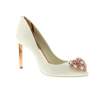 Ted Baker Peetch 2 - talons Womens Satin Ivoire (blanc)