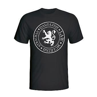Scozia presidenziale t-shirt (nero)