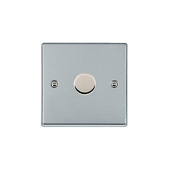 Hamilton Litestat Hartland Bright Chrome 1g 300VA 2 Way Dimmer BC